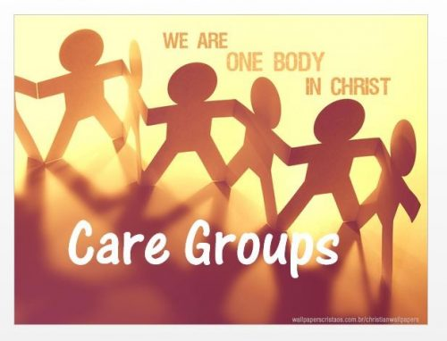 Care Group Sunday/ No Evening Services